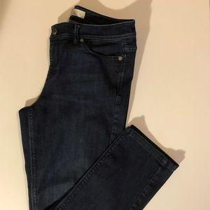 J. Jill Authentic Fit Slim Leg Denim Jeans-Size: 8